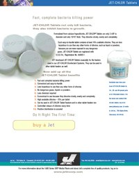 Chemical Chlor Tab Brochure