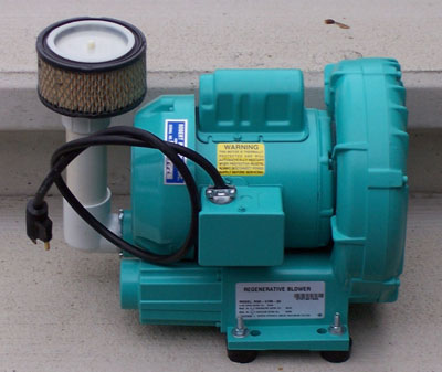 Stiger precast septic aerator repair and replacement Septic motor